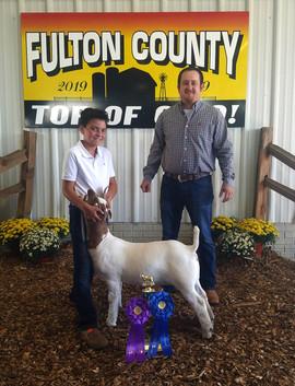 Wyatt Borer, Grand Breeding Doe Fulton C