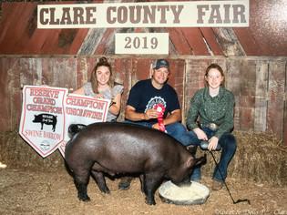 Erin Judge Reserve Champion Clare County