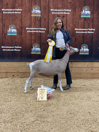 Jaylyn Rogers, Grand Champion, State Dai