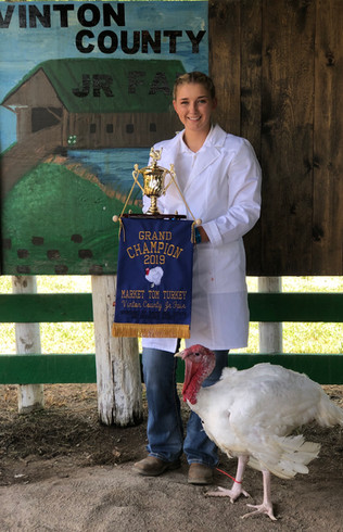 Isabelle Lambert, Grand Champion Tom McA