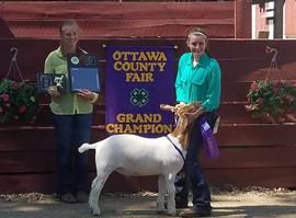 Jenna Timmer, Grand Champion Ottawa Coun