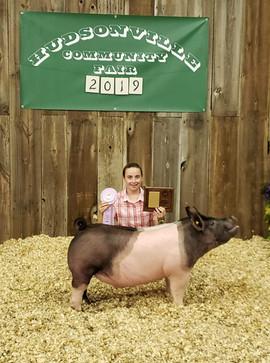 Megyn Schout, Reserve Grand Champion Ott