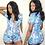 Thumbnail: Stretchy Sexy Onesie Pajamas for Adults Women Plus Size Button Bodysuit Leotard