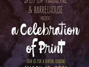 Register now: Reading with Barrelhouse and Split Lip March 18