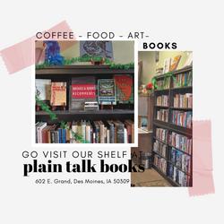 Broads and Books at Plain Talk Books