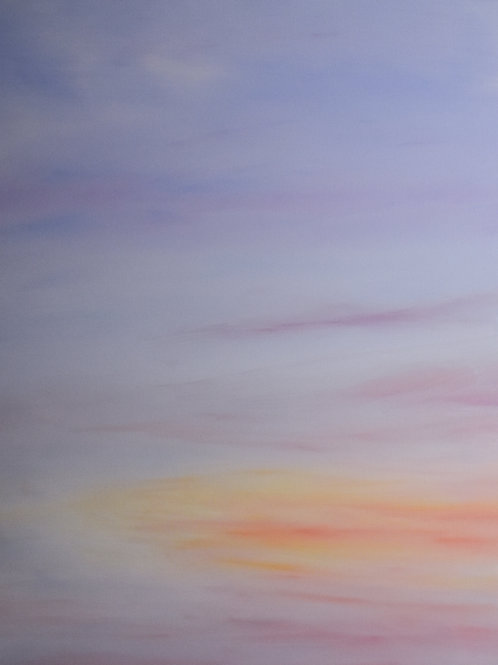 "Subtle Skies I | 20""x24"" | @D Gallery"