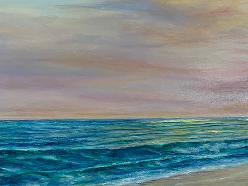 """Tranquil Sunset 