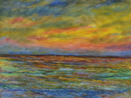 "Sunset Splash | 24""x18"" | @  D-Gallery"