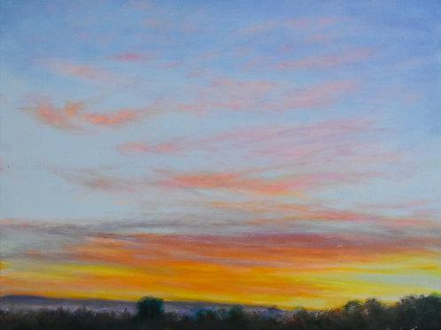 "Sunset Calm | 24""x20"""