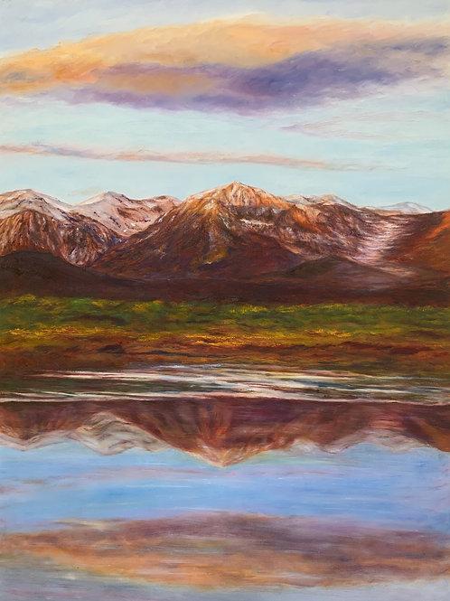 "Sierra Sunset | 30""x40"""