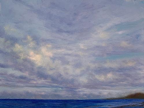 """Oahu Skies   24""""x18"""""""