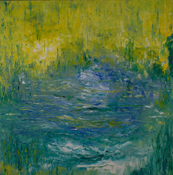 Autumn Pond 24 x 24 2006