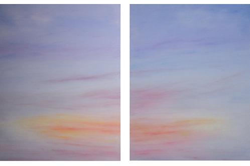 "Dyptik Subtle Skies | 20""x24"" | @D Gallery"