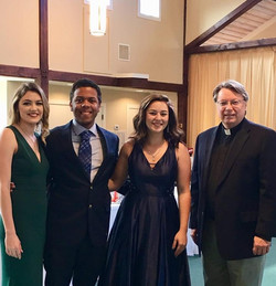Fr. Neil & Henderson State Students