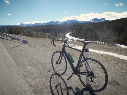 Biking Highway 40