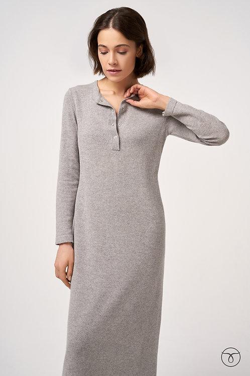 Платье из кашемира воротник поло