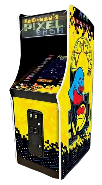 Title Pac-Man Pixel Bash Coin-Op Upright Arcade Game