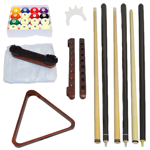 Standard Mahogany Accessory Kit with Balls