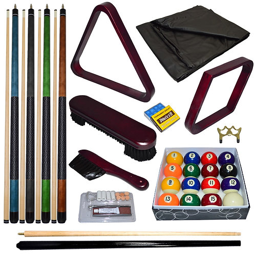 Deluxe Mahogany Accessory Kit with Balls