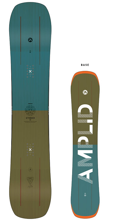 Amplid Stereo Snowboard