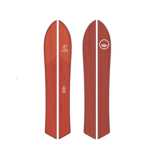 Elevated Surfcraft RedTail Hawk Split