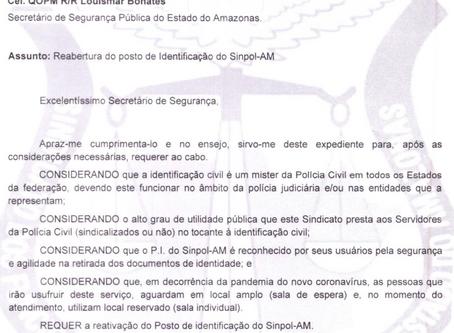 SINPOL EM AÇÃO - POSTO DE IDENTIFICAÇÃO