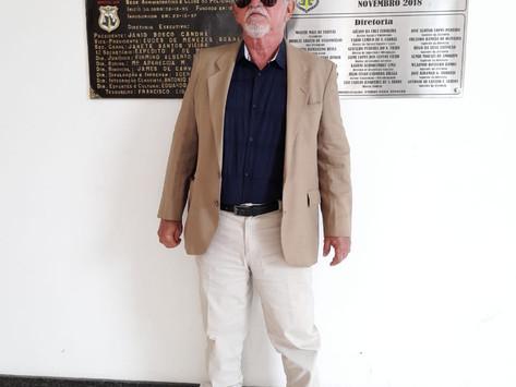 Galeria dos Heróis - Investigador de Polícia de Classe Especial Aposentado Waldir da Silva Ventilari