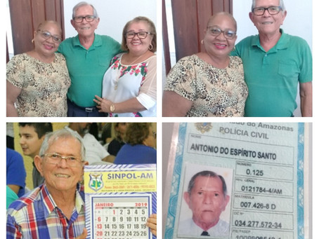 DEPARTAMENTO SOCIAL DO SINPOL ENTREVISTA: INVESTIGADOR DE POLÍCIA ANTÔNIO DO ESPÍRITO SANTO