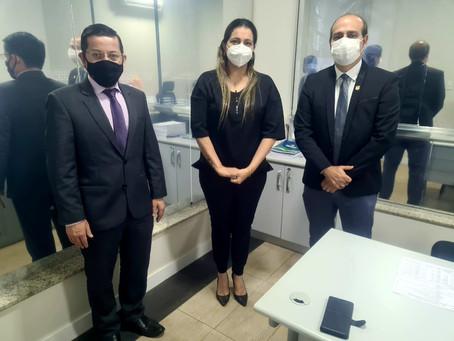 Diretoria Executiva do SINPOL-AM busca desembaraçar processos parados na SEAD