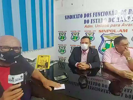 PRESIDENTE DO SINDICATO DOS POLICIAIS CIVIS FALA SOBRE CONCURSO DA POLICIA CIVIL