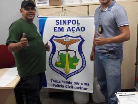 SINPOL FAZ PEQUENOS REPAROS EM DELEGACIAS, MAS COM IMPACTO RELEVANTE PARA OS SERVIDORES