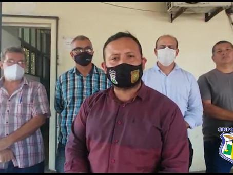 SINPOL VAI À CARCERAGEM DA DELEGACIA GERAL VERIFICAR DENÚNCIA DE ABUSO E INSALUBRIDADE