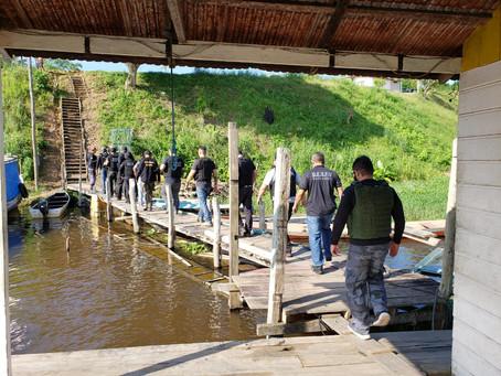 Polícia Civil prende oito pessoas ao longo de operação realizada em Barreirinha e Parintins