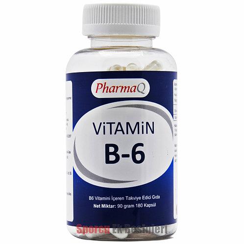 PHARMA Q Vitamin B6 180 Kapsül
