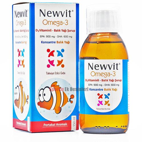 Newvit Omega-3 D3 Vitaminli Şurup