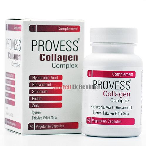PROVESS Collagen Complex 60 Vejeteryan Kapsül
