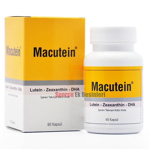 Macutein 60 Kapsül Lutein - Zeaxanthin - DHA