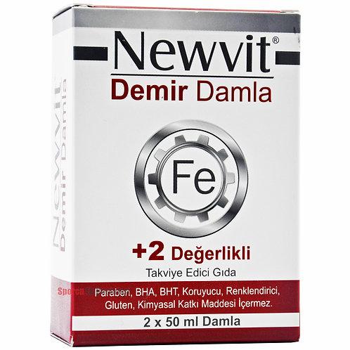 Newvit Demir Damla 2 x 50 ml