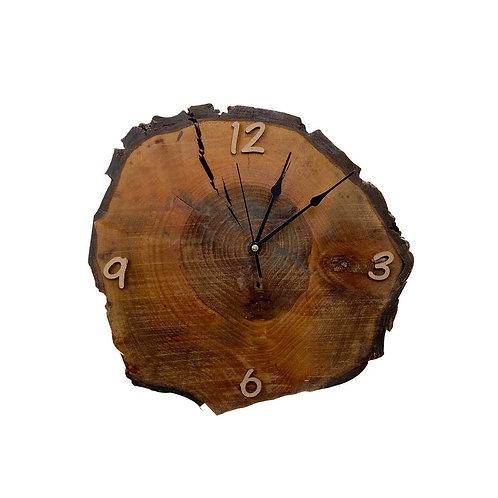Dekoratif Duvar Saati , Doğal ağaç Duvar Saati Retro