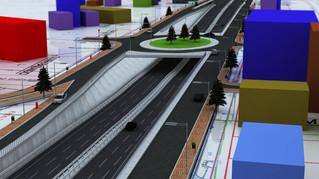 Yol ve Kavşak 3d Proje Modelleme