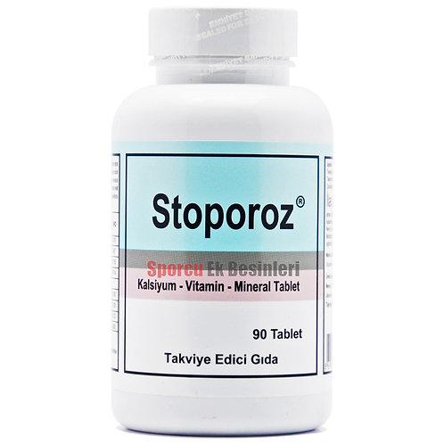 Stoporoz 90 Tablet Vitamin D3, MK7 Mena Q7 Vitamin K2, Magnezyum, Kalsiyum