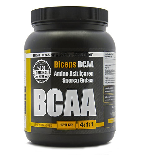 SUPPLEMENT | Biceps Sporcu Ek Besinleri BCAA