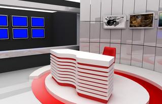 Televizyon Sahne Dekoru