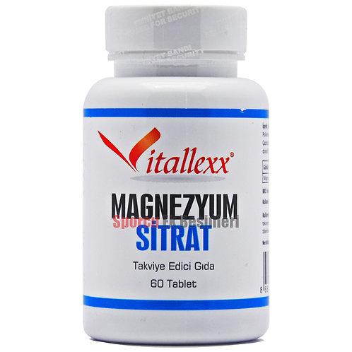 Vitallex vitallexx vitalex Magnezyum Sitrat 60 Tablet