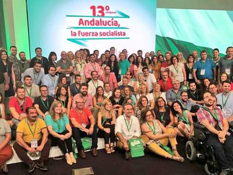 La Delegación de Andújar participa en el 13 Congreso Regional de Andalucía