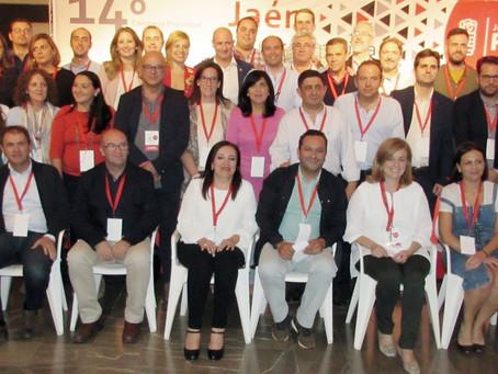 El PSOE de Andújar cuenta con dos representantes en la nueva Ejecutiva Provicial del PSOE de Jaén