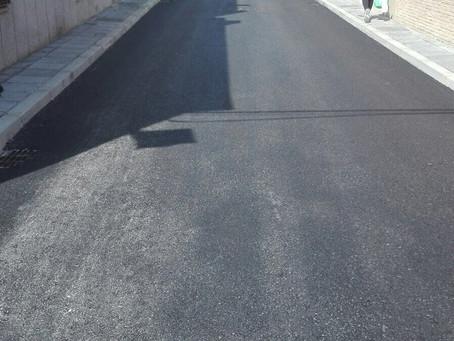 Remodelada la calle Villanueva de Andújar