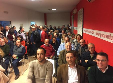 La candidatura presentada por Paco Huertas recibe el respaldo mayoritario de la asamblea extraordina