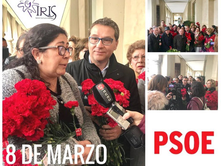 El PSOE y la Asociación de Mujeres Progresistas Iris organizan conjuntamente las actividades del Día