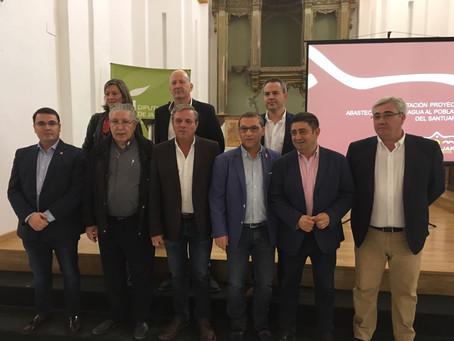El PSOE de Andújar valora positivamente la firma del acuerdo para el abastecimiento de agua potable
